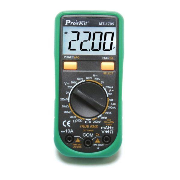 MT-1705 Multimétre